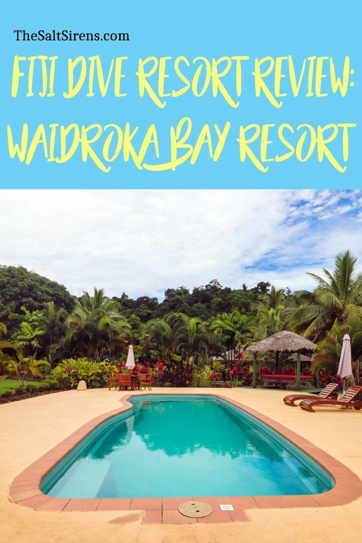 Waidroka Dive Resort: One of the best dive resorts in Fiji