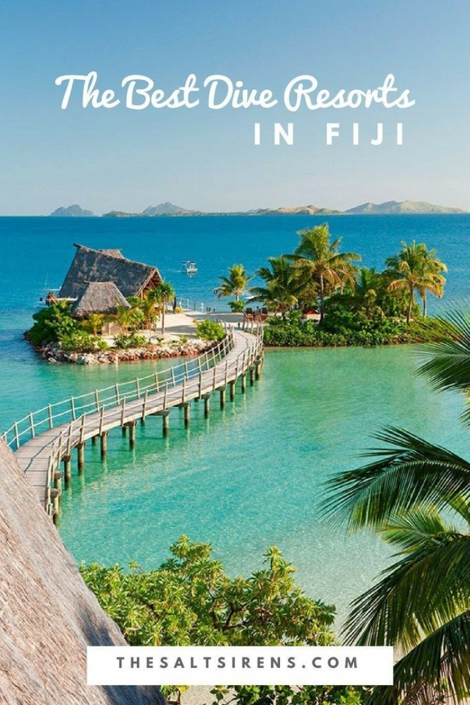 The best dive resorts in Fiji. Scuba divers, you better save this!