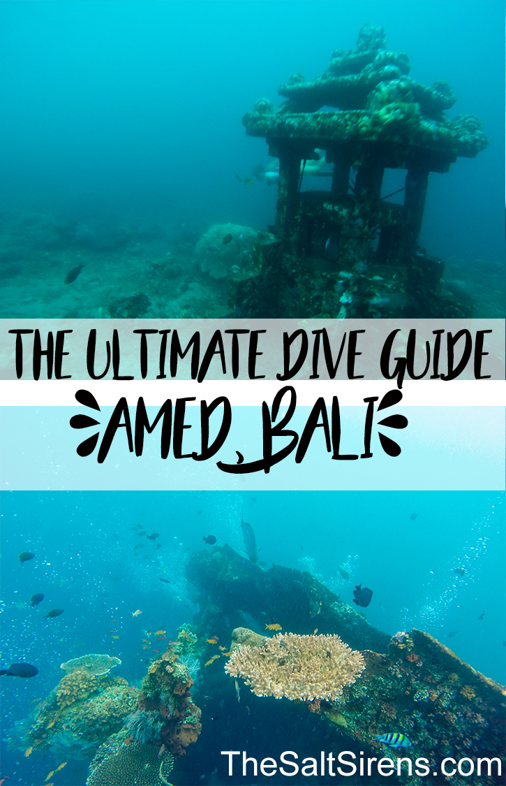 The ultimate guide to diving in Amed, Bali, including where to dive, the best freediving and scuba schools, where to stay, and what else to do in this ocean oasis.