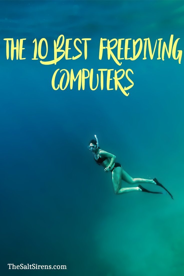 The 10 Best Freediving Computers 2 - The Salt Sirens