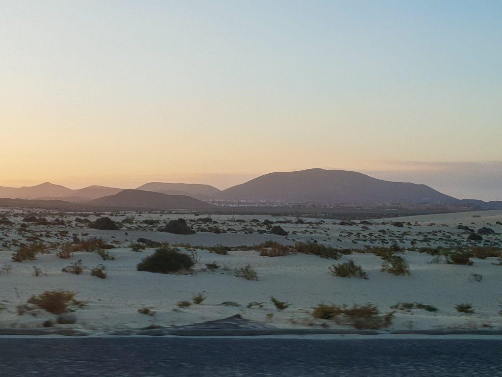 Sunset in Fuerteventura