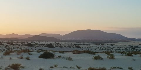 Sunset in Fuerteventura