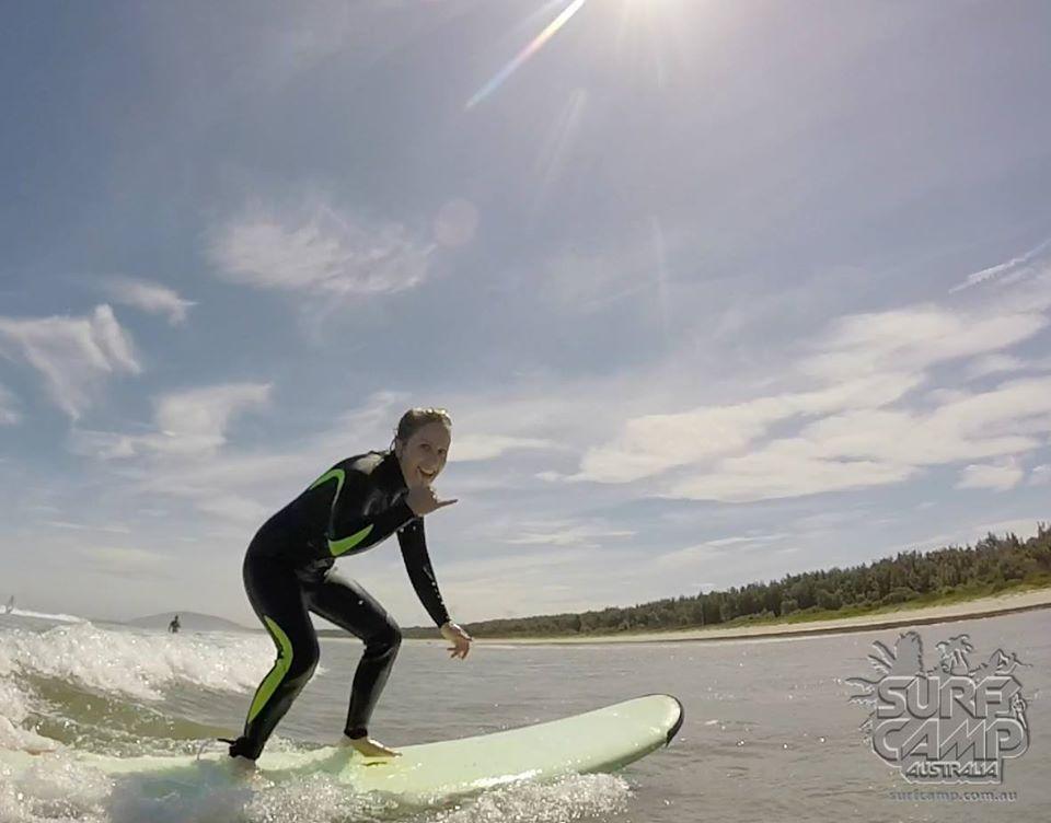 Surfing 7 Mile Beach Australia