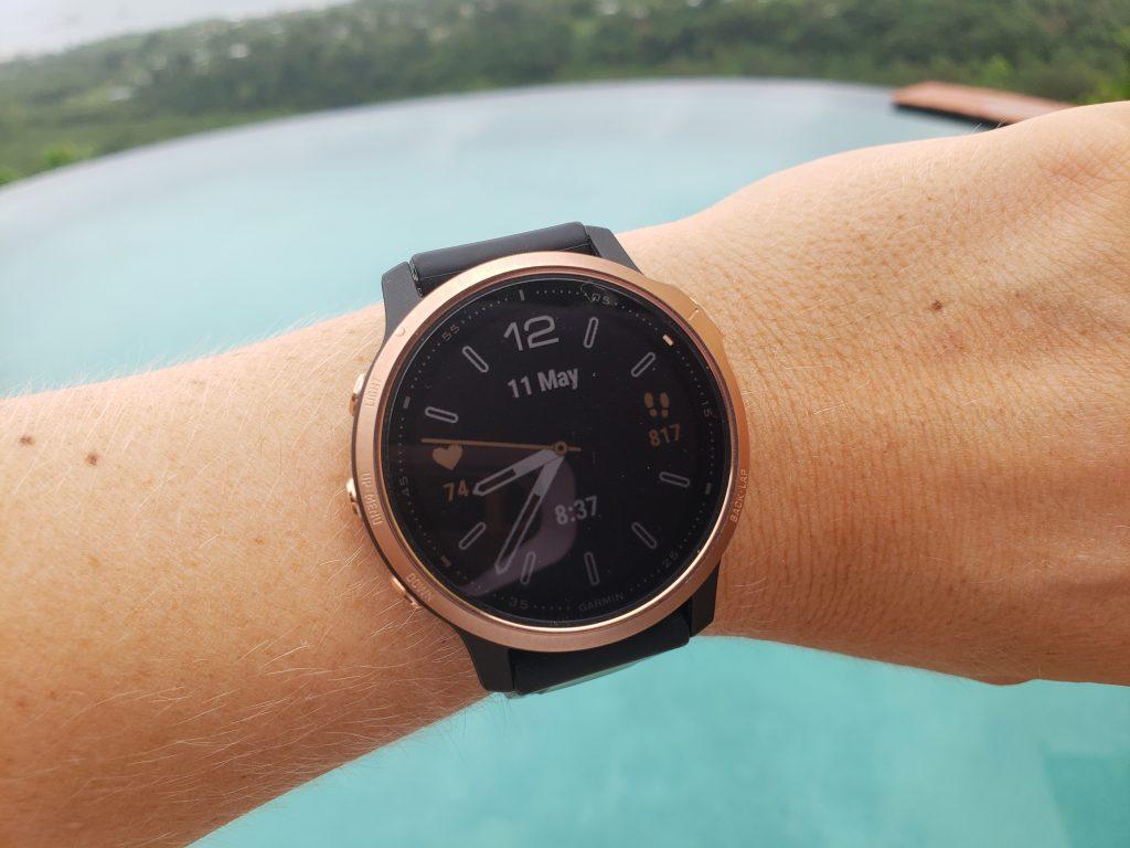 Garmin Fenix 6S Sapphire Review - Watchface