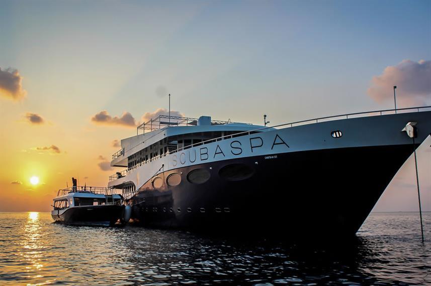 Scubaspa Yang: Luxury Maldives liveaboard